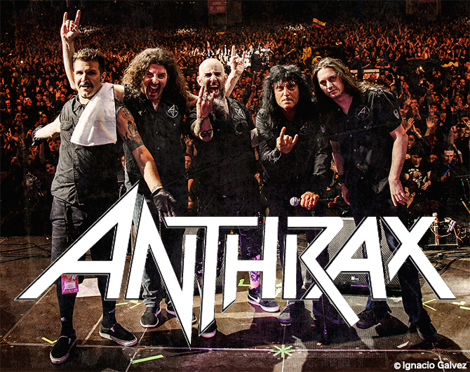 Anthrax photo by Ignacio Galvez
