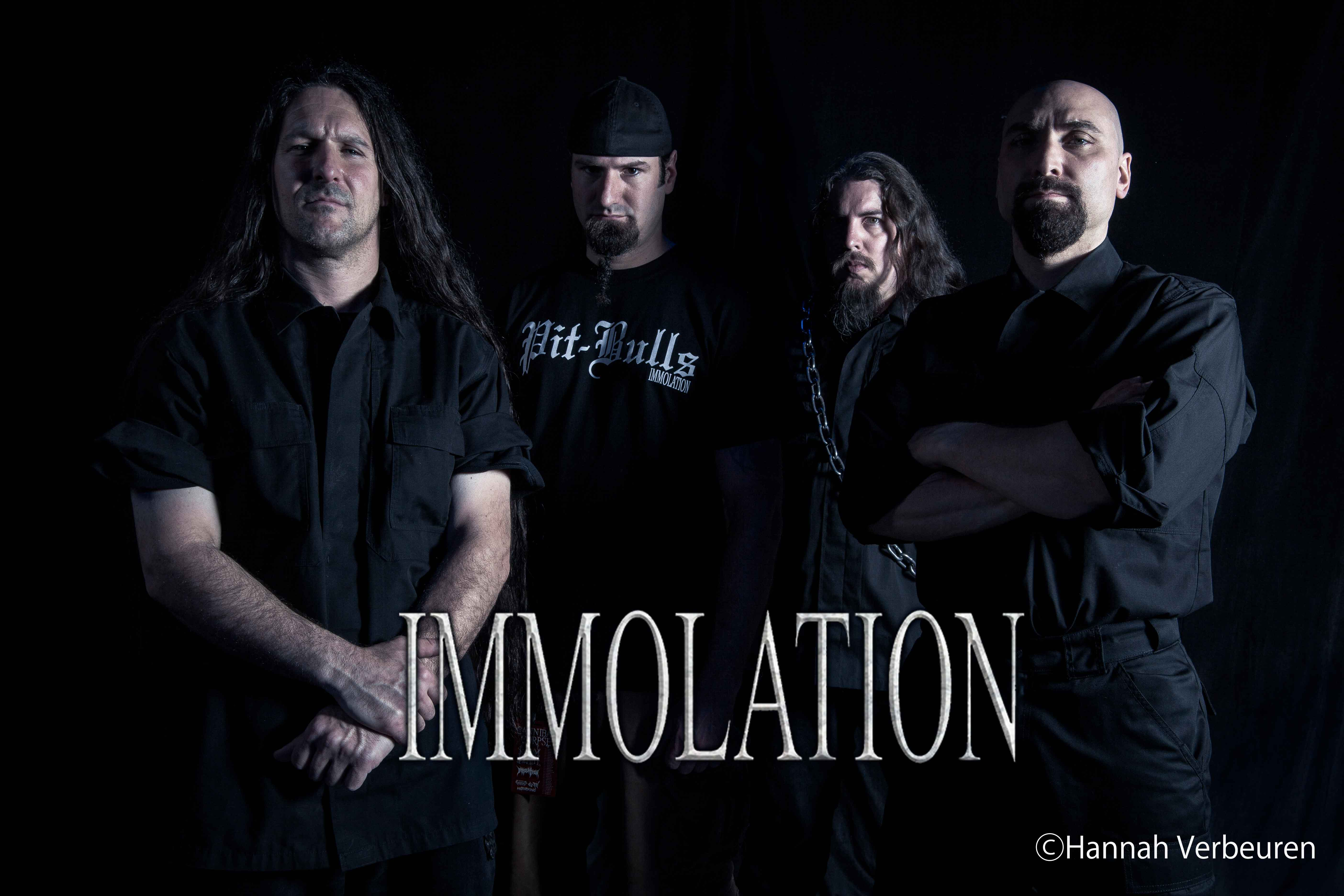 Immolation photo by Hannah Verbeuren
