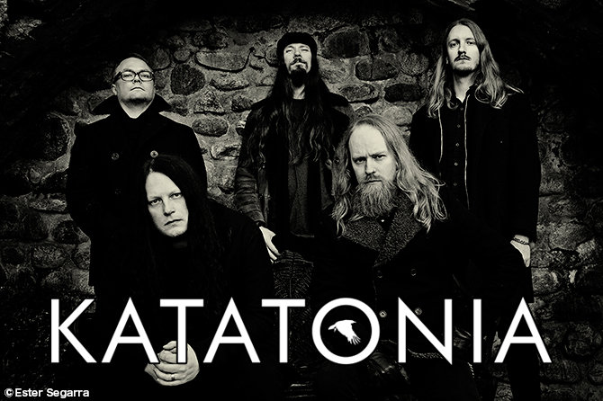 Katatonia photo by Ester Segarra