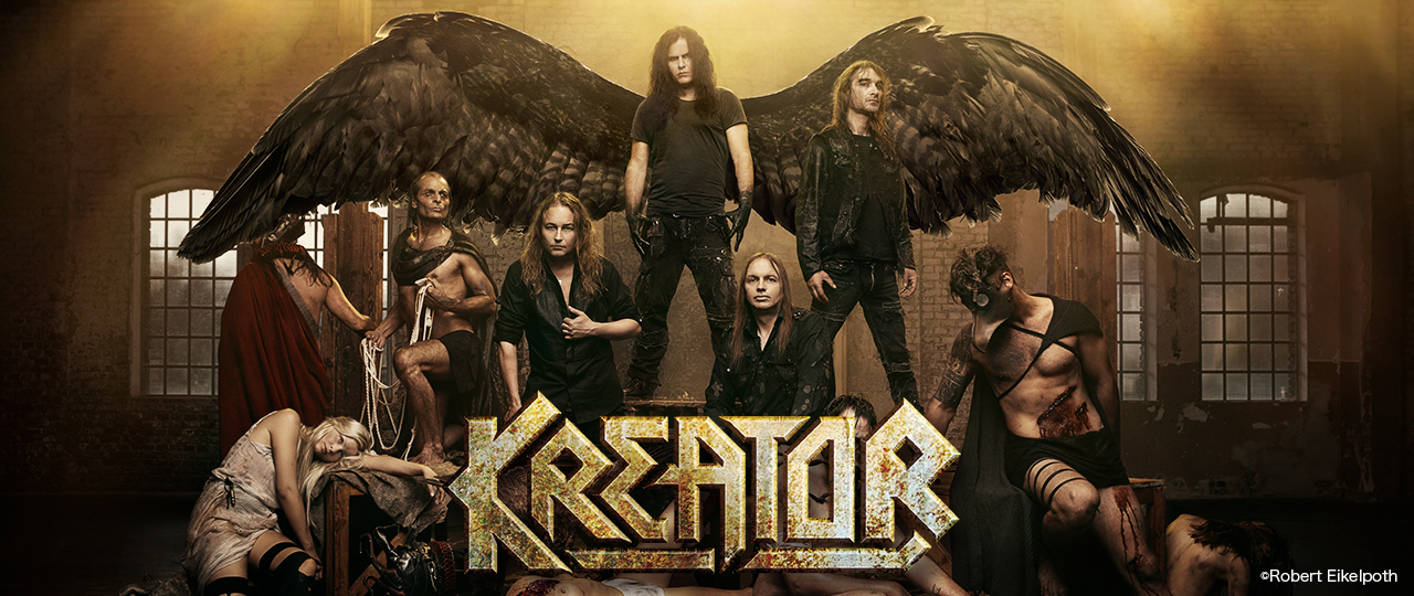 Kreator photo by Robert EikeLPoth