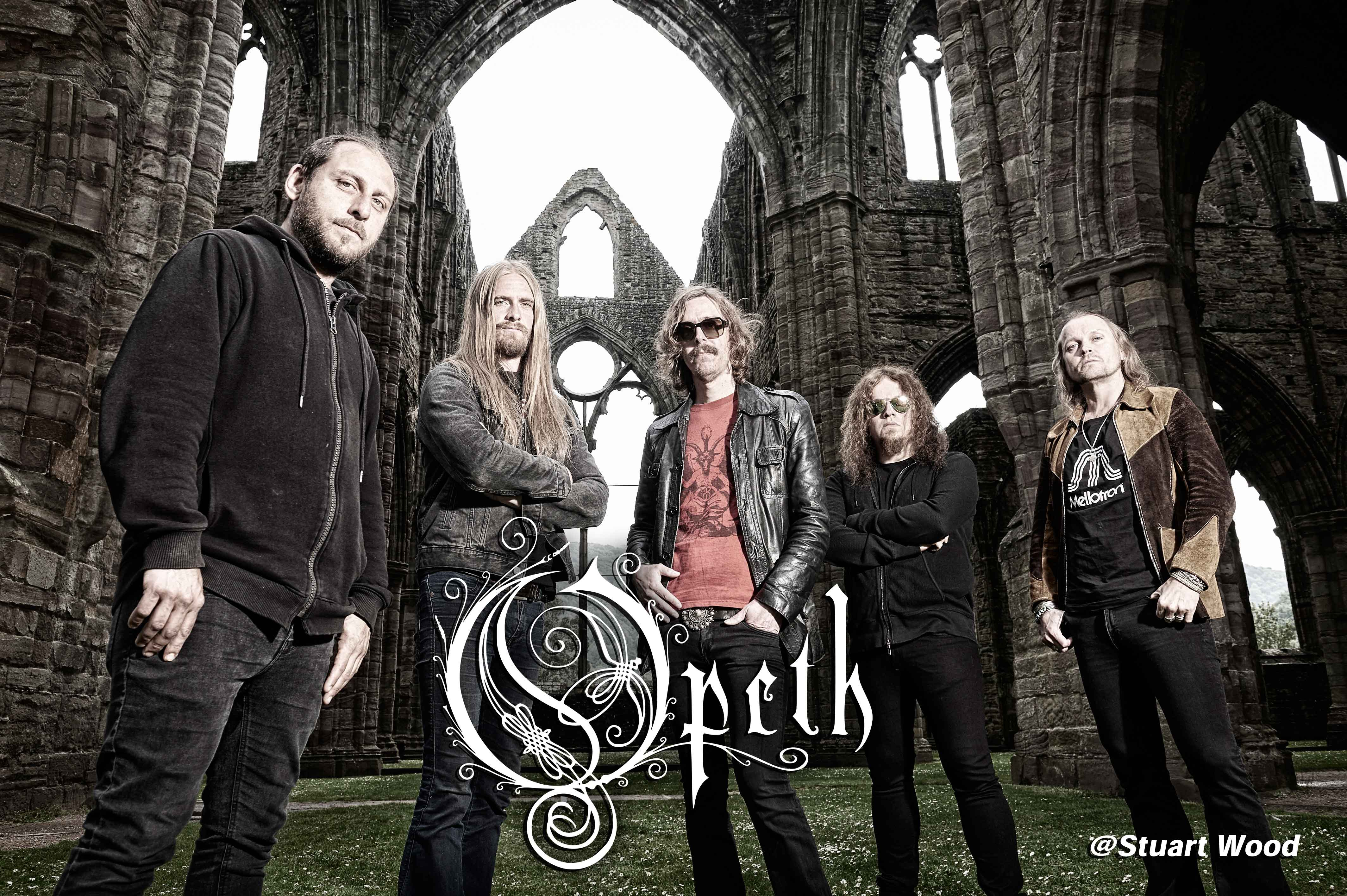 Opeth photo by Stuart Wood
