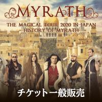 MYRATH THE MAGICAL TOUR 2020 IN JAPAN