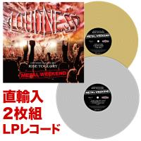 【通販限定】LOUDNESS World Tour 2018 RISE TO GLORY METAL WEEKEND【直輸入2枚組LPレコード】