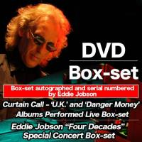 "Eddie Jobson ~ Curtain Call - 'U.K.' and 'Danger Money'& Eddie Jobson ""Four Decades"" Special Concert"