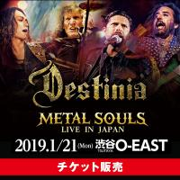 METAL SOULS LIVE IN JAPAN【チケット】