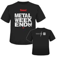 『METAL WEEKEND x BURRN!』コラボ Tシャツ(S/M/L/XL)