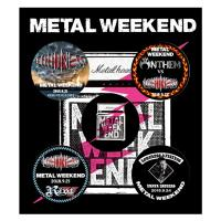 METAL WEEKEND 缶バッジ5種セット