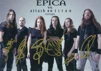 『EPICA VS attack on titan songs』+「THE ULTIMATE PRINCIPLE」【300枚限定 直筆サインカード+CD+チケット】
