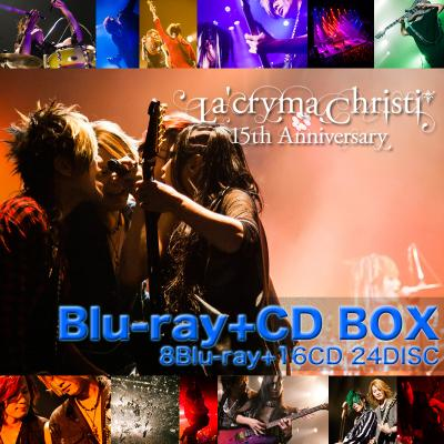La'cryma Christi 15th Anniversary Live -Special Blu-ray+CD BOX-