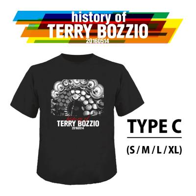 """History Of Terry Bozzio"" Official T-Shirt TYPE C( S / M / L / XL )"