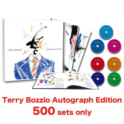Terry Bozzio - Composer Series【Direct Sales only Premium Edition 4CD+Blu-ray+Blu-ray(Audio-only)+Bonus DVD with Terry Bozzio's Autograph】