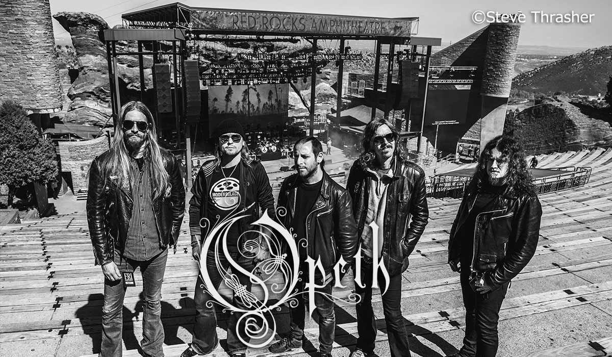 Opeth photo by Steve Thrasher