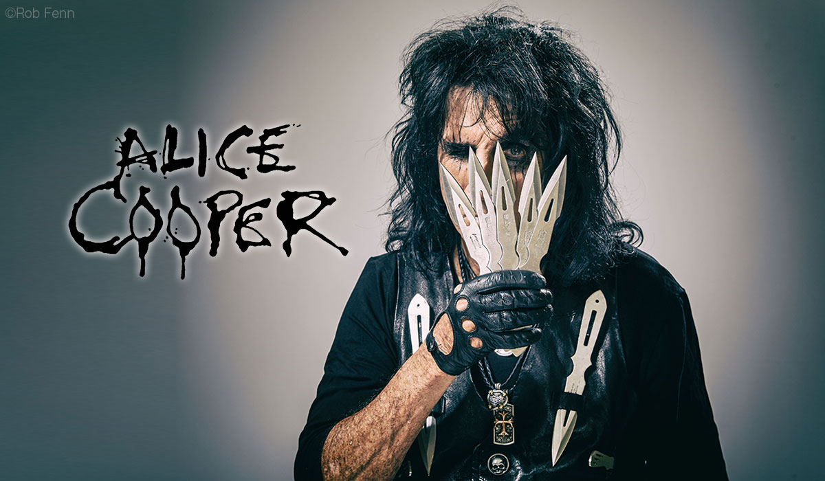 Alice Cooper photo by Rob Fenn