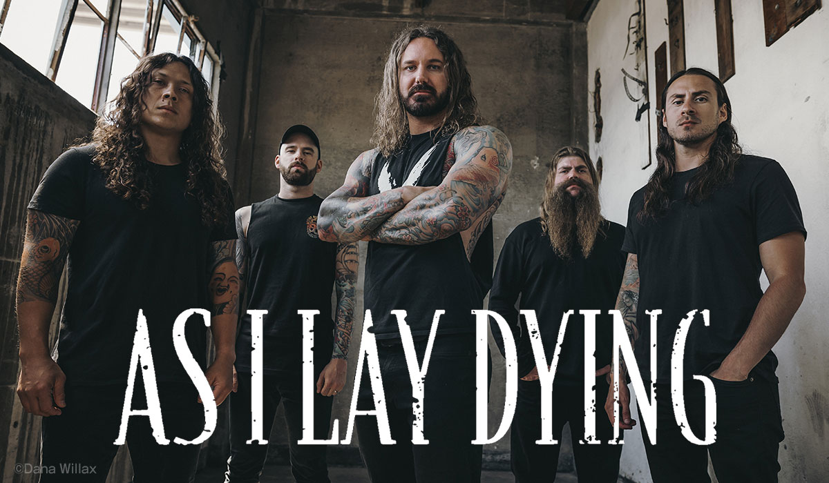 As I Lay Dying photo by Dana Willax