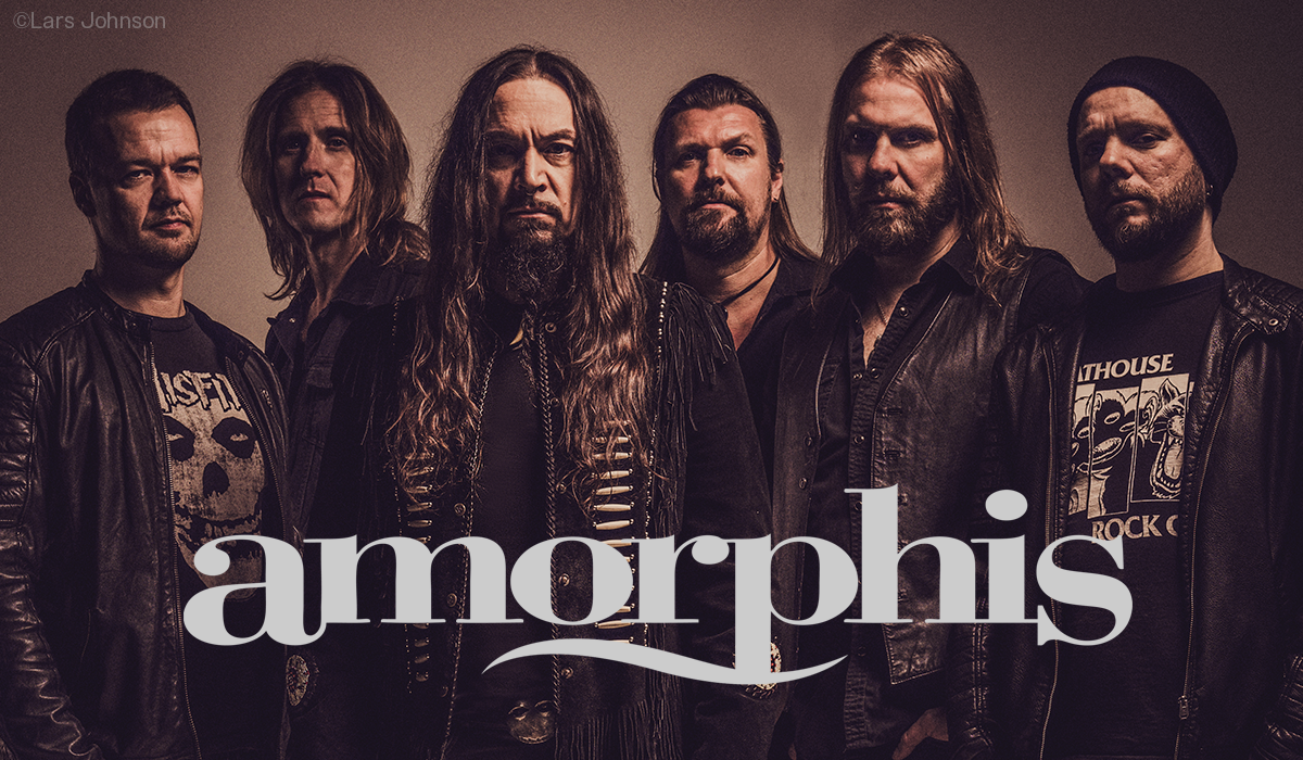 Amorphis photo by Lars Johnson