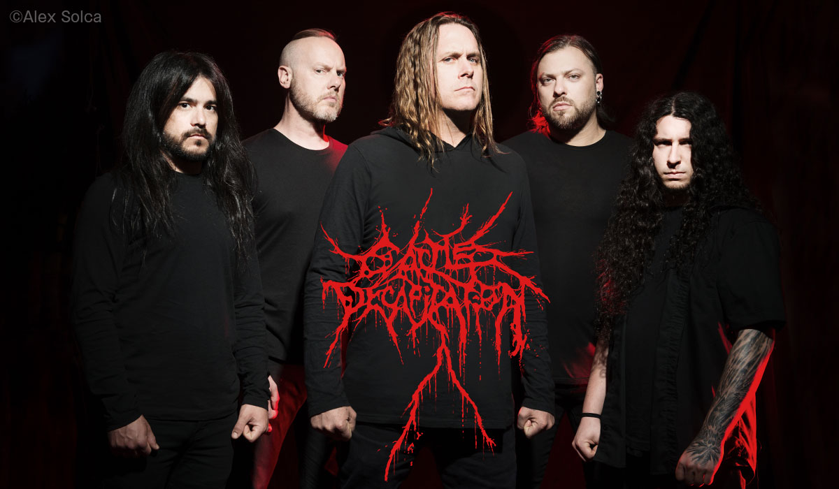 Cattle Decapitation photo by Alex Solca
