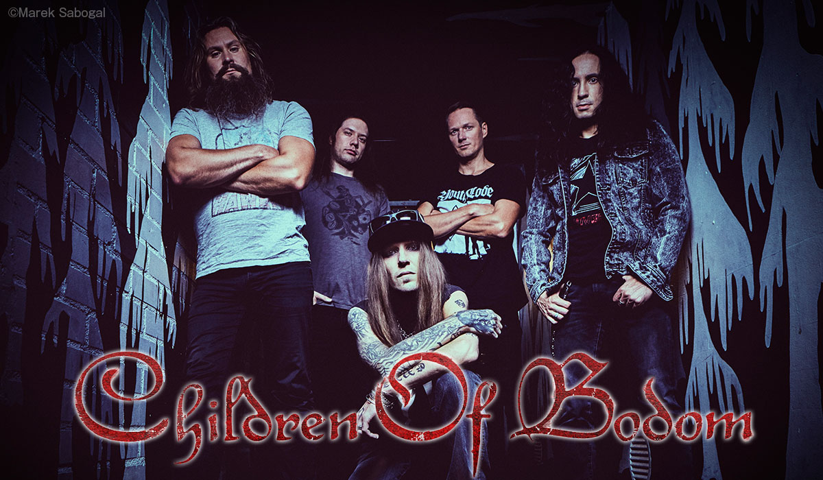 Children of Bodom photo by Marek Sabogal