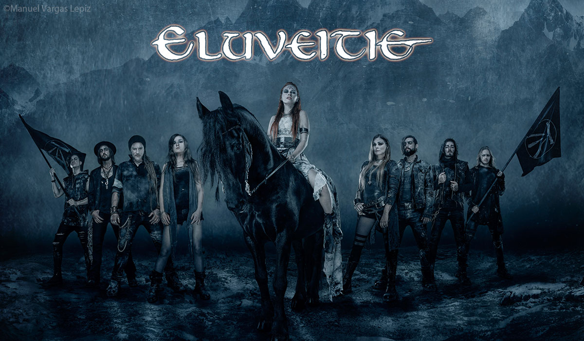 Eluveitie photo by Manuel Vargas Lepiz