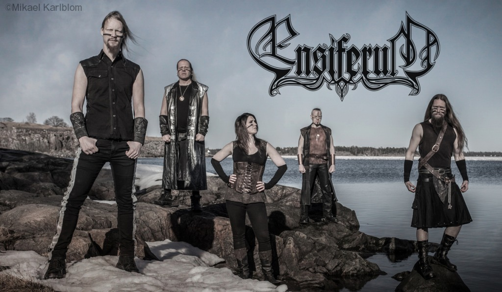 Ensiferum photo by Mikael Karlblom