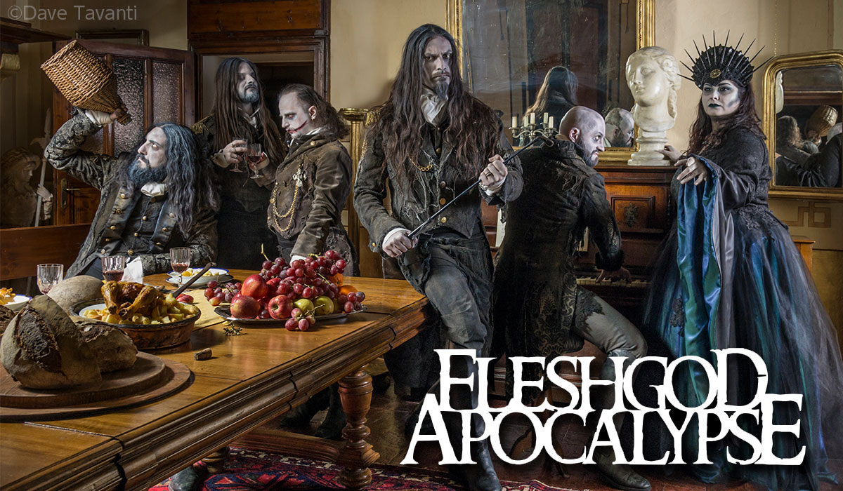 Fleshgod Apocalypse photo by Dave Tavanti