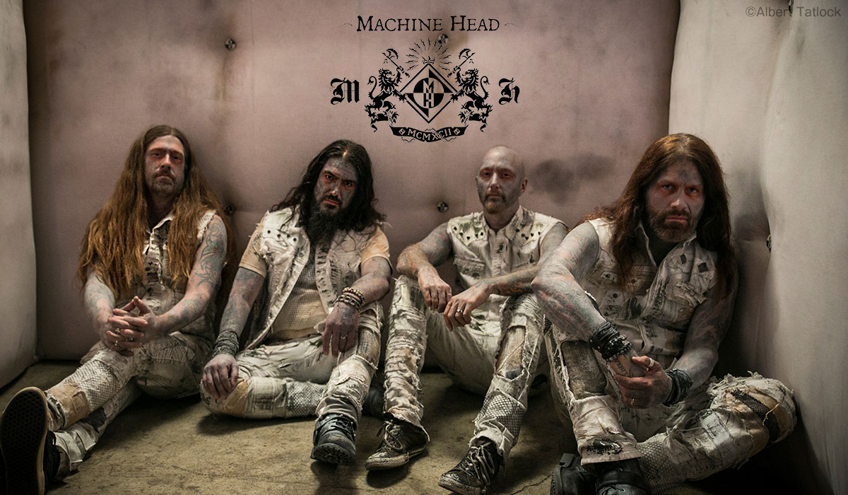 Machine Head photo by Albert Tatlock