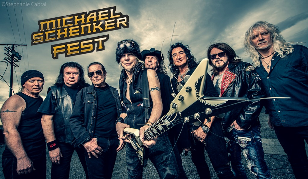 Michael Schenker Fest photo by Stephanie Cabral