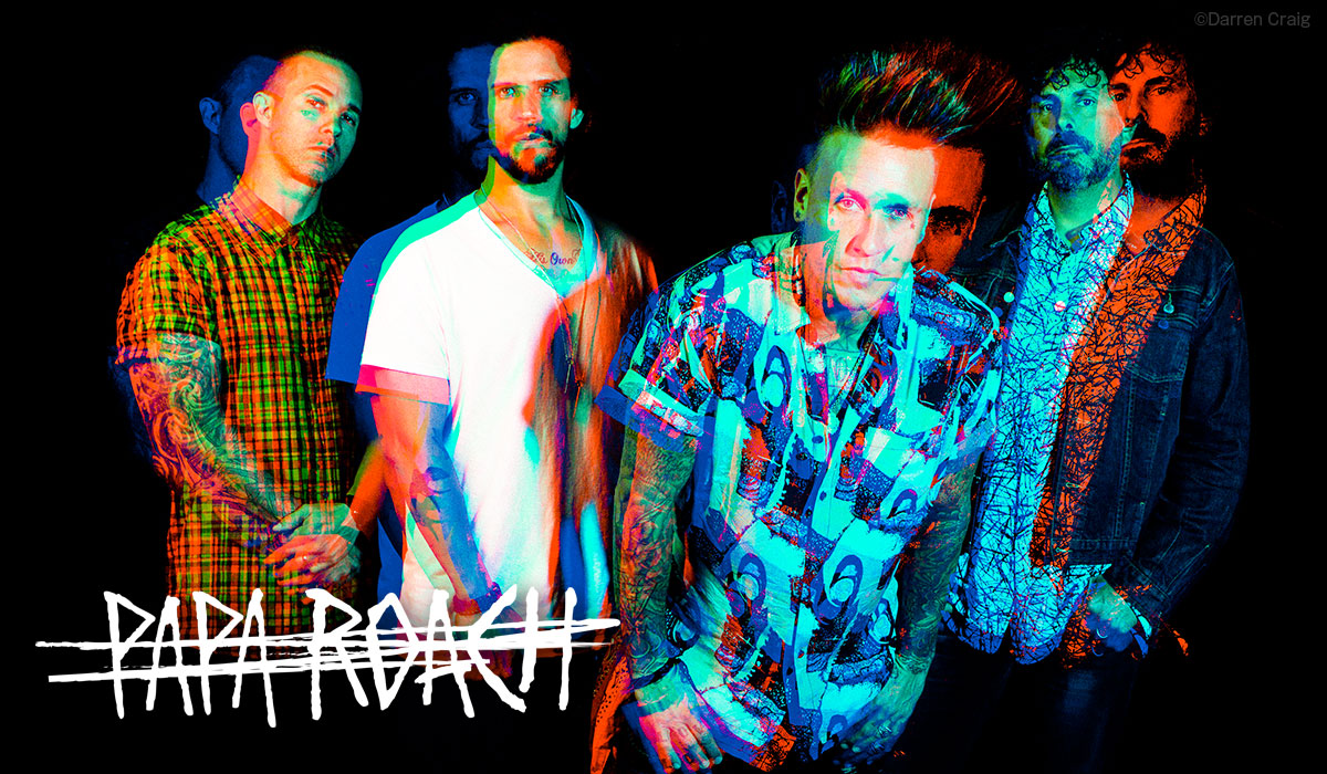 Papa Roach photo by Darren Craig