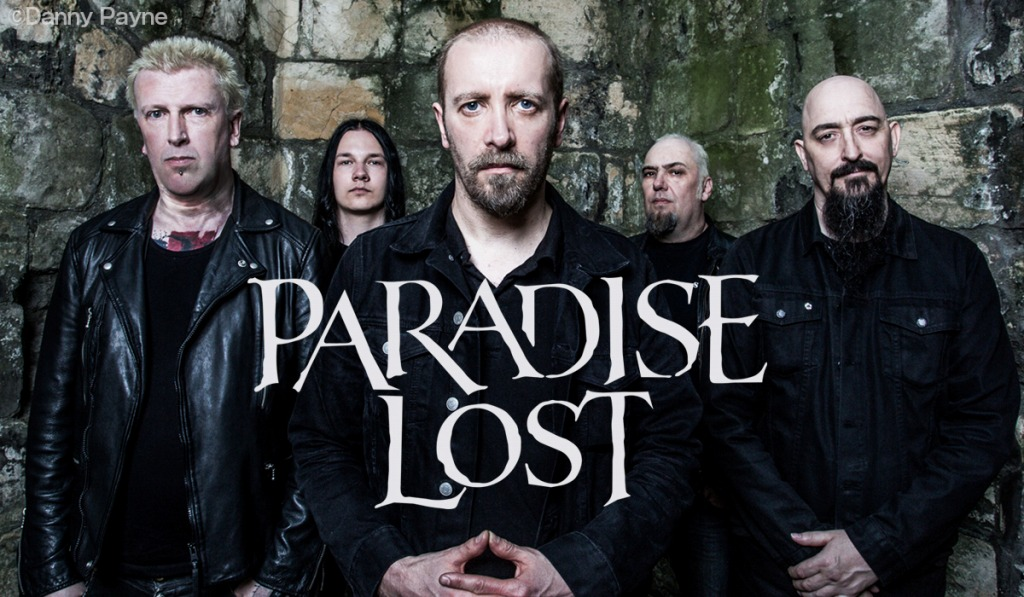 Paradise Lost photo by Danny Payne
