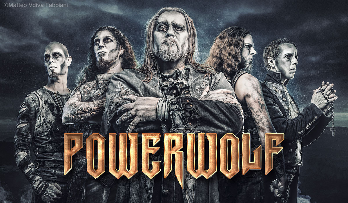 Powerwolf photo by Matteo Vdiva Fabbiani
