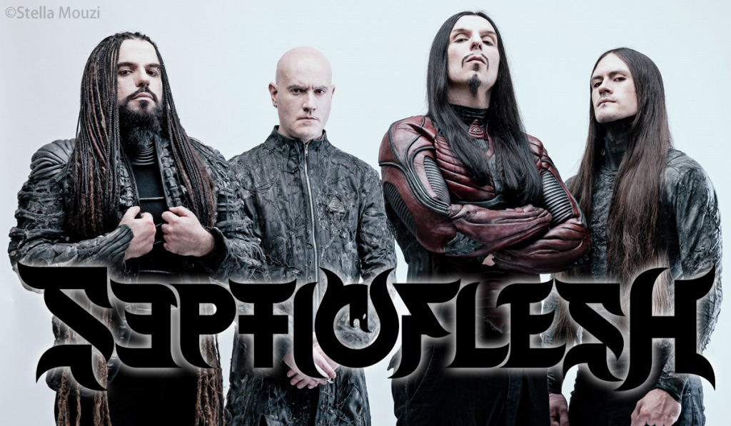 Septicflesh photo by Stella Mouzi
