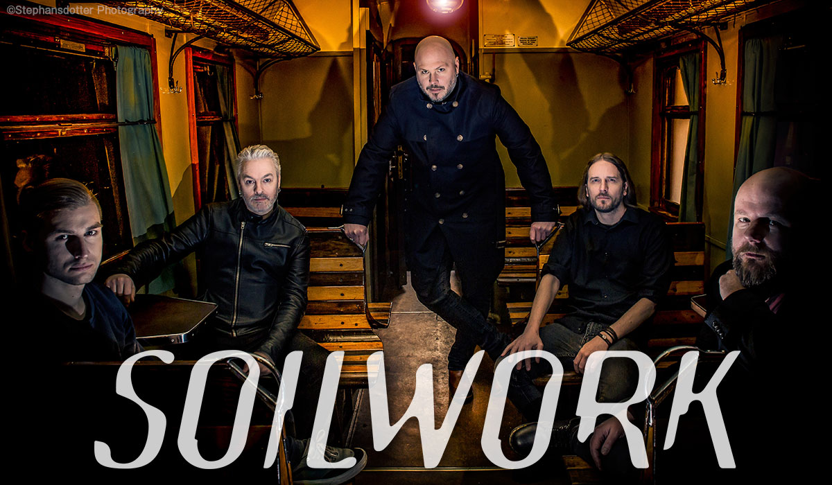 Soilwork photo by Stephensdotter Photography