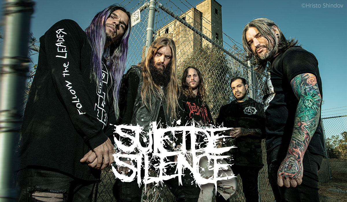 Suicide Silence photo by Hristo Shindov