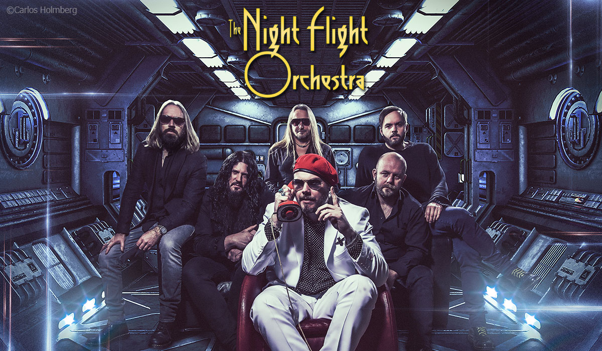 The Night Flight Orchestra photo by Carlos Holmberg
